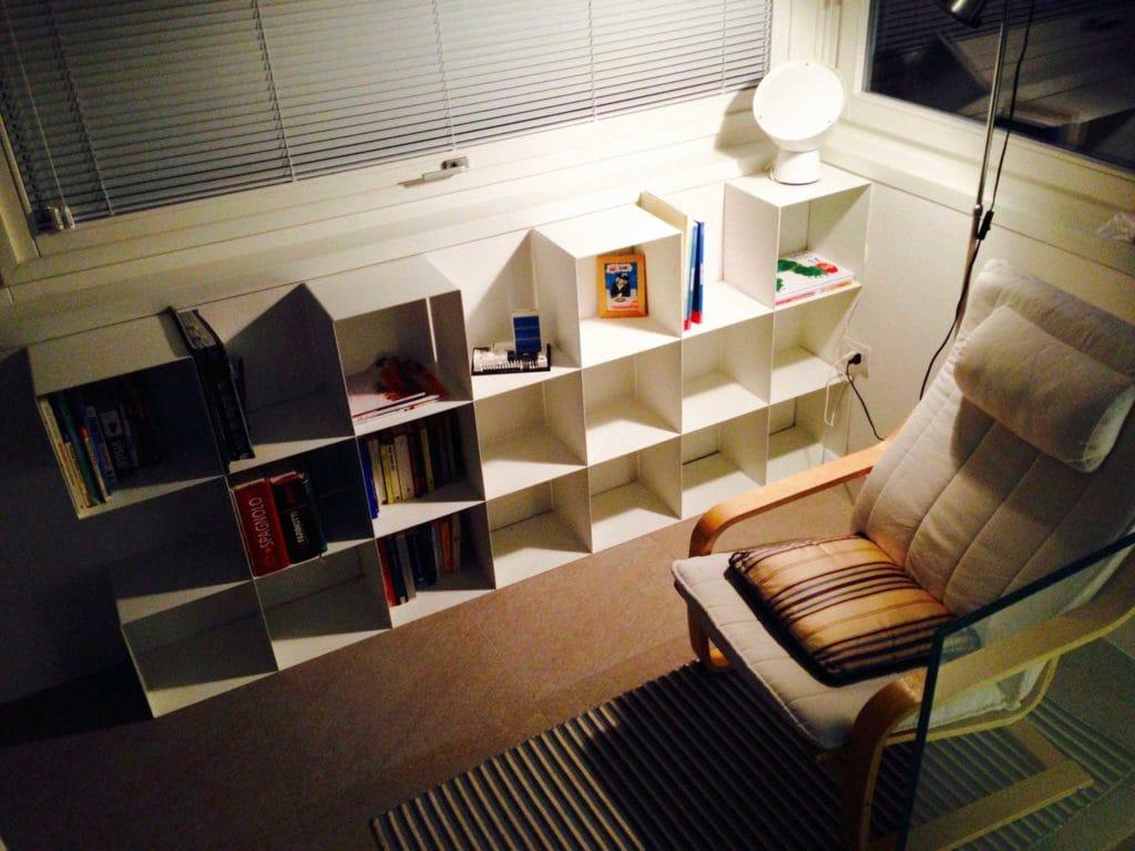 Librerie artigianali su misura: libreria modulare