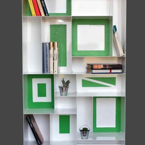Librerie artigianali su misura: libreria da terra